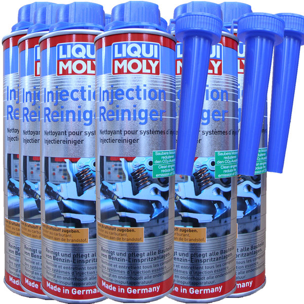 Additive Liqui Moly Injection Reiniger 5110 6X300ml