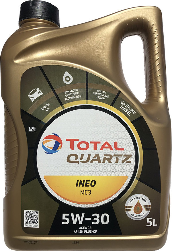 Motoröl Total 5W-30 Quartz INEO MC3 1X5L