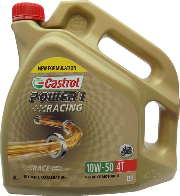 Motorradöl Castrol 10W-50 4T Power1 Racing 1X4L