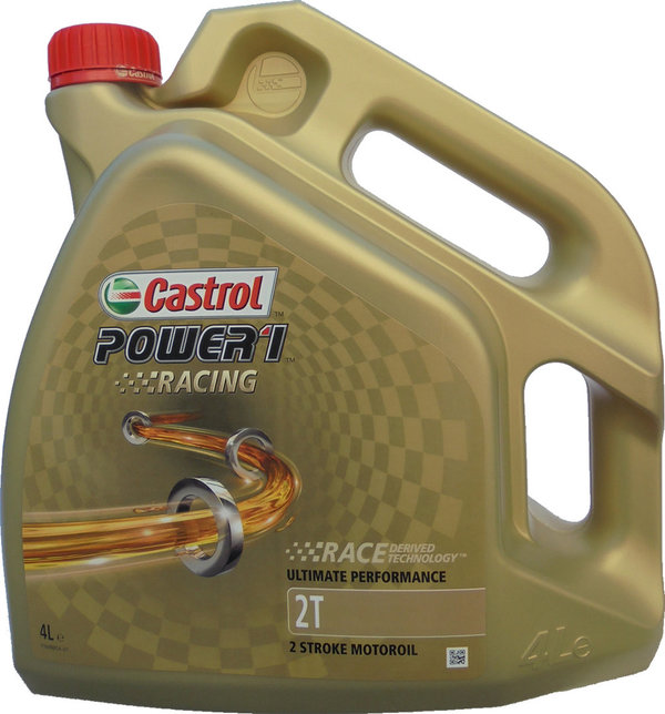 Motorradöl Castrol 2T Power1 Racing 1X4L