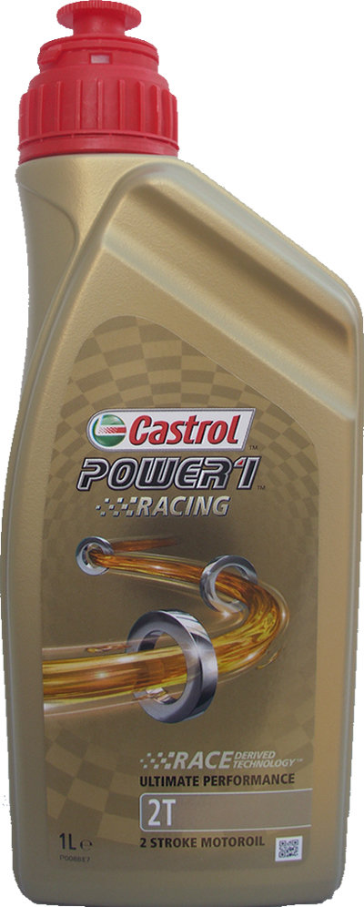 Motorradöl Castrol 2T Power1 Racing 1X1L