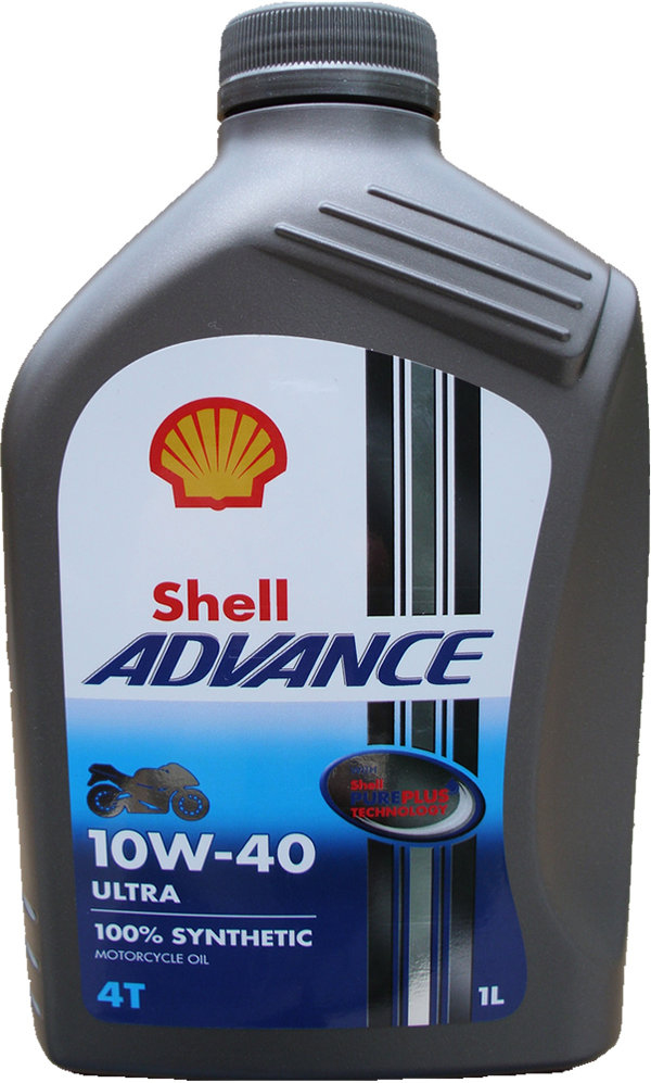 Motorradöl Shell 10W-40 ADVANCE 4T Ultra (1 X 1L)