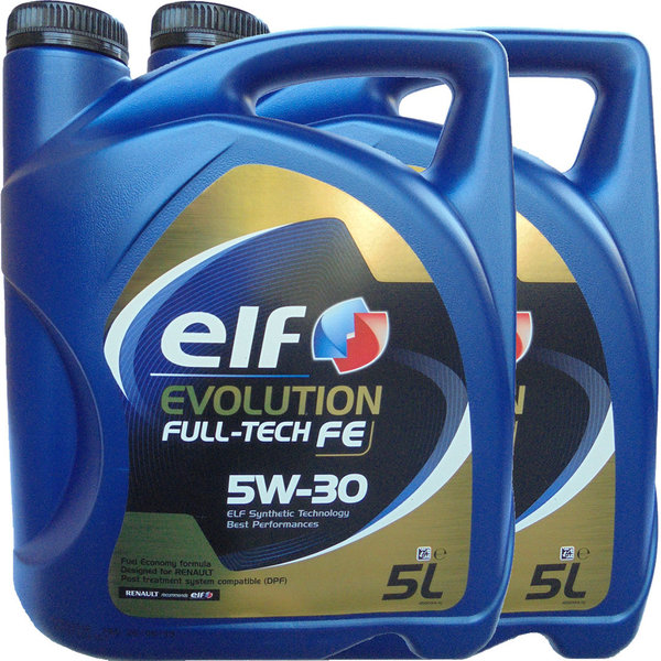 Motoröl ELF 5W-30 Evolution Full-Tech FE 2X5L