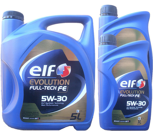 Motoröl ELF 5W-30 Evolution Full-Tech FE 5L+2L
