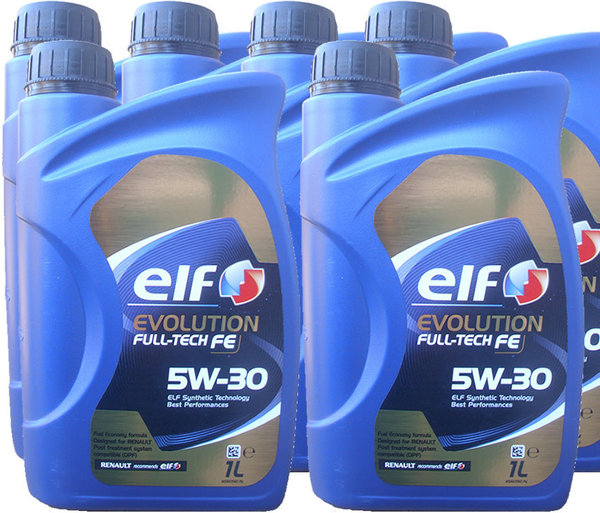 Motoröl ELF 5W-30 Evolution Full-Tech FE 6X1L