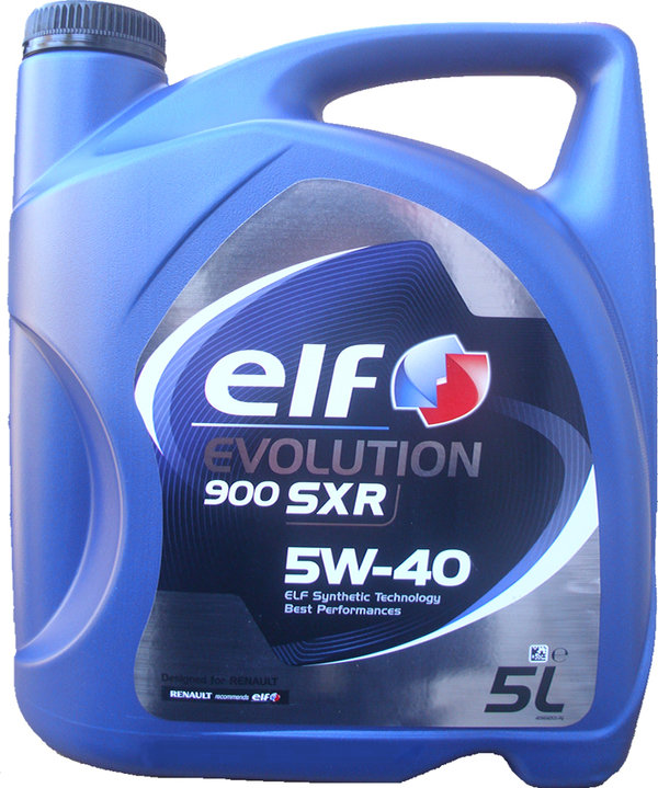 Motoröl ELF 5W-40 Evolution 900 SXR 1X5L