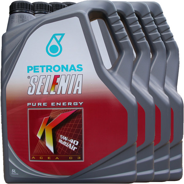 Motoröl Selenia 5W-40 K Pure Energy Multi Air 4X5L