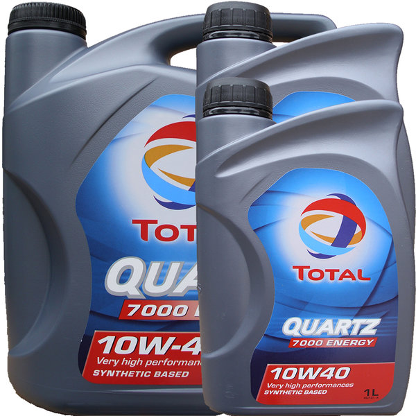 Motoröl Total 10W-40 Quartz 7000 Energy 5L+2L