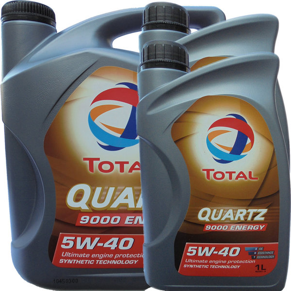 Motoröl Total 5W-40 Quartz 9000 Energy 5L+2L