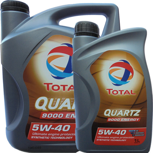 Motoröl Total 5W-40 Quartz 9000 Energy 5L+1L
