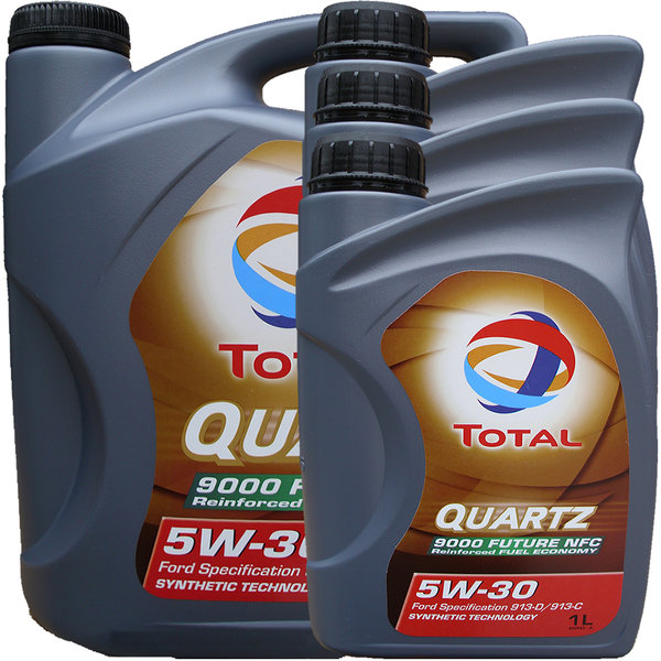 Motoröl Total 5W-30 Quartz 9000 Future NFC 5L+3L