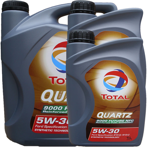 Motoröl Total 5W-30 Quartz 9000 Future NFC 5L+2L