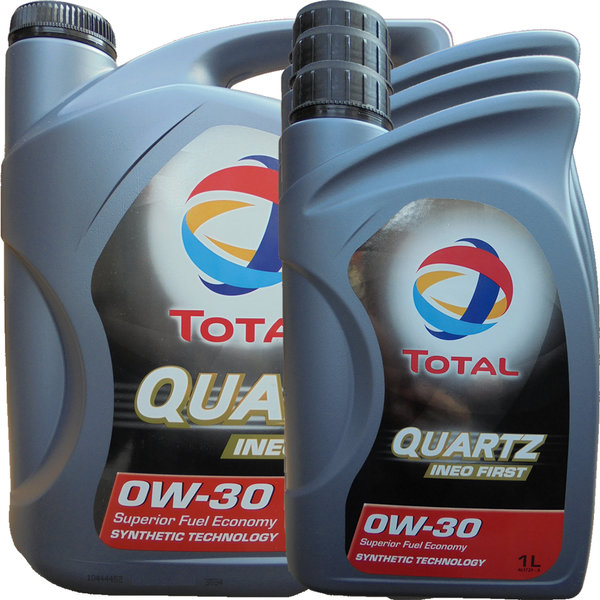 Motoröl Total 0W-30 Quartz Ineo First (5L+3L)