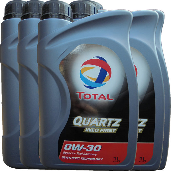 Motoröl Total 0W-30 Quartz Ineo First (5X1L)