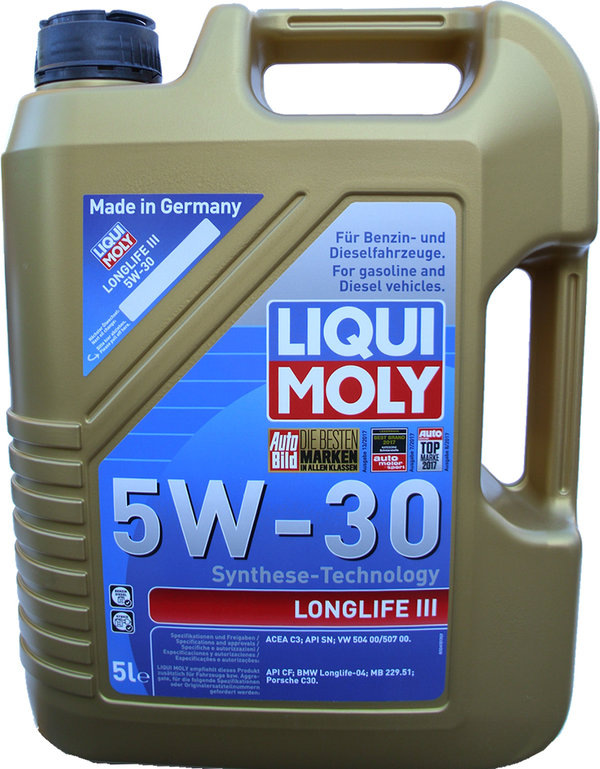 motor l liqui moly 5w 30 longlife 3 20647 g nstig online. Black Bedroom Furniture Sets. Home Design Ideas