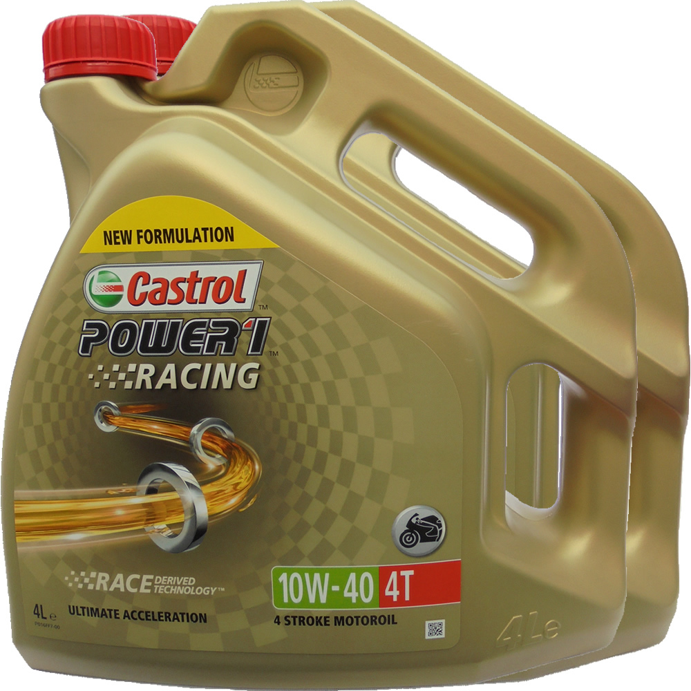 Castrol power 1 motorcycle oil wheeled garden seat