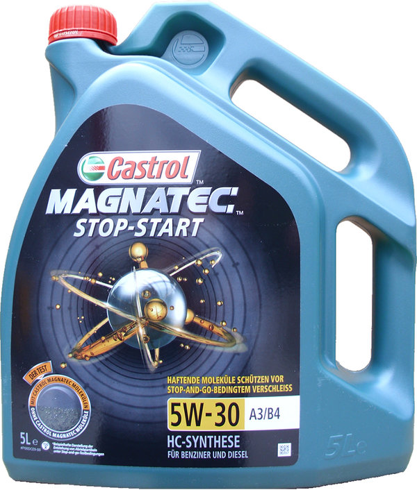 Engine oil Castrol 5W-30 A3 / B4 Magnatec Stop-Start 1X5L