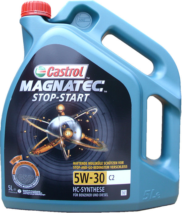 Engine oil Castrol 5W-30 C2 Magnatec Stop-Start 1X5L