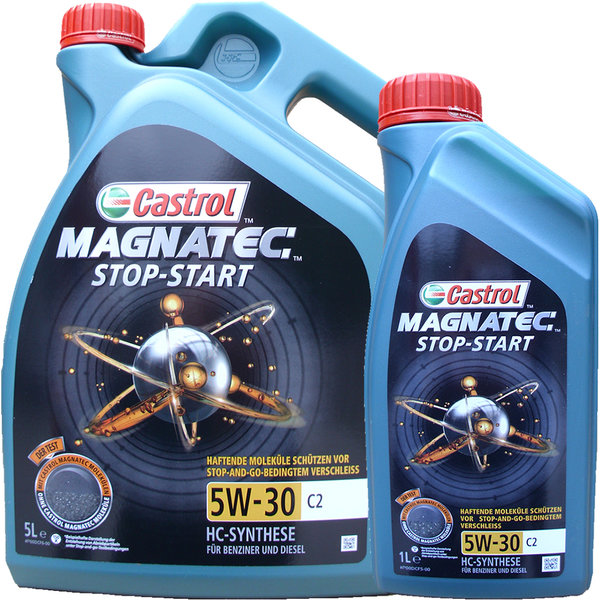 motor l castrol 5w 30 c2 magnatec stop start g nstig. Black Bedroom Furniture Sets. Home Design Ideas