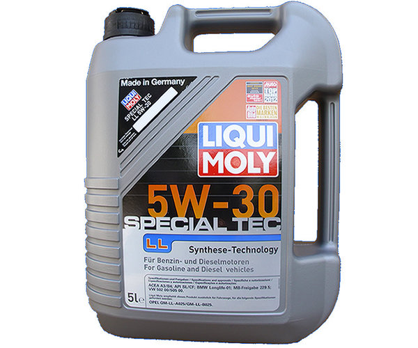 motor l liqui moly 5w 30 special tec ll jetzt g nstig. Black Bedroom Furniture Sets. Home Design Ideas