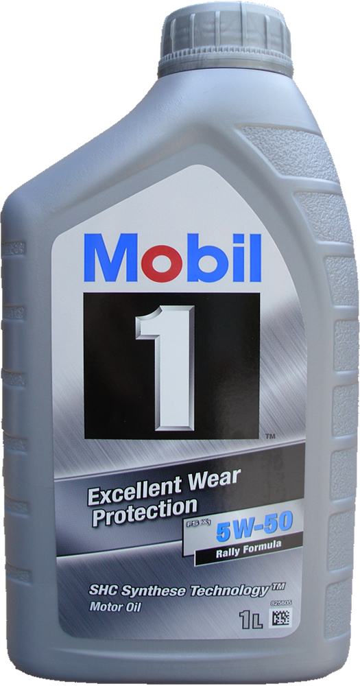 Engine oil Mobil 1 5W-50 FS X1 Rally Formula 1X1L