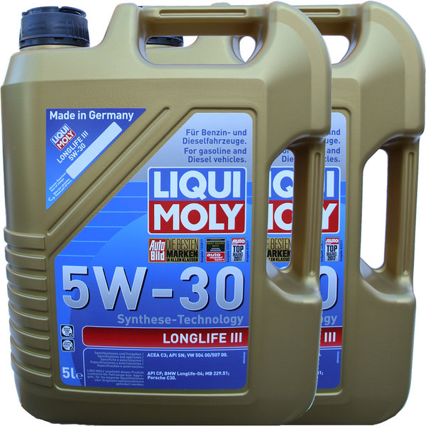motor l liqui moly 5w 30 longlife 3 20647 g nstig online kaufen. Black Bedroom Furniture Sets. Home Design Ideas